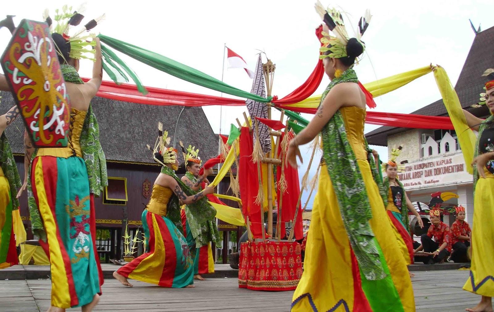 Tari Manasai, Tarian Tradisional Dari Provinsi Kalimantan Tengah
