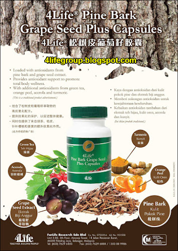 foto 4Life PBGS+ Pine Bark Grape Seed Plus Capsules