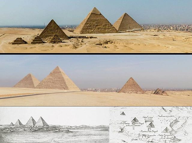 Ancient book contains detailed drawings of a fourth pyramid in Giza  Fourth%2Bpyramid%2Bgiza%2Bplateau%2B%2B%25283%2529