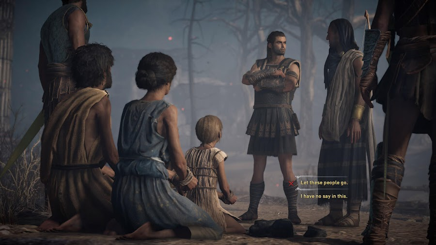 assassins creed odyssey player dialogue choices
