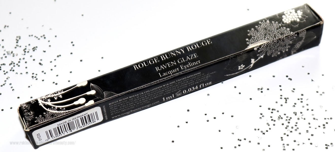 Rouge Bunny Rouge Raven Glaze Lacquer EyeLiner Review and Swatches