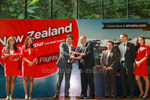 AirAsia X Flights to New Zealand