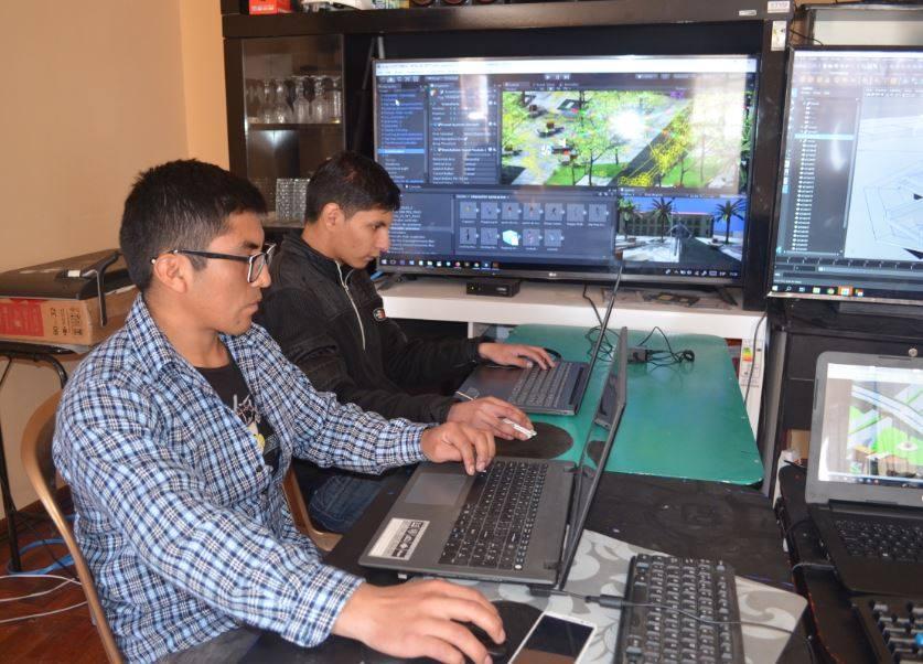Programadores de Mundo Virtual realizan el modelado en 3D de El Alto / ALBERTO MEDRANO