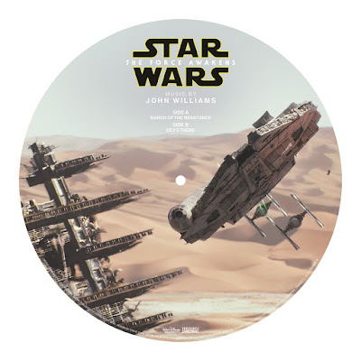 Record Store Day 2016 Exclusive Star Wars: The Force Awakens Soundtrack Picture Disc Vinyl Record Side A