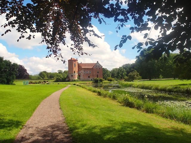 vackra slott i Skåne