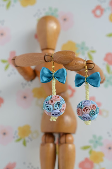 orecchini fatti a mano