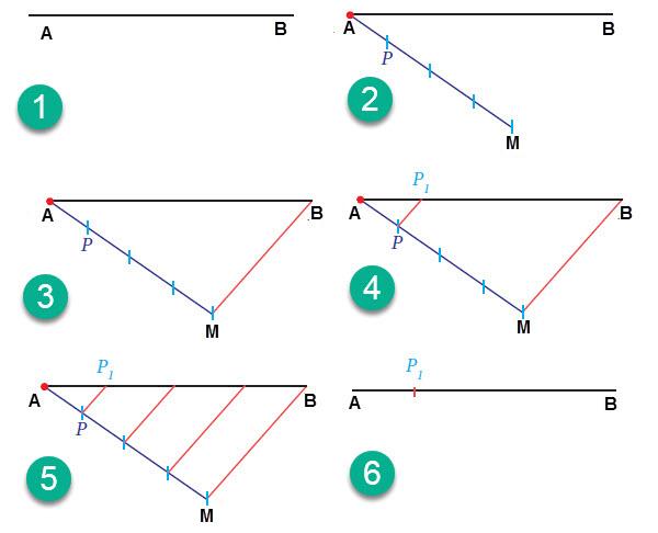 Membagi garis 3