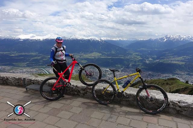 Biken Innsbruck Nordkette