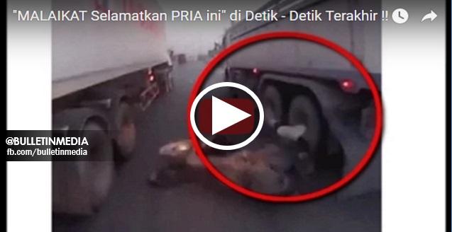 "MENYERAMKAN !!! Video Ini Memaparkan Wanita Ini Di gilis ""TRELER"" Tetapi Bangun Seperti Tiada Apa-apa!!"
