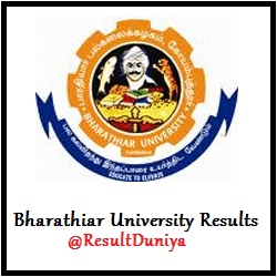 Bharathiar University UG Exam Results