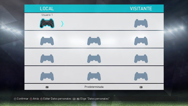 PS3 GamePad + Buttons PES 2017