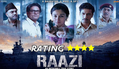 RAAZI MOVIE REVIEW: TERRIFIC MOVIE