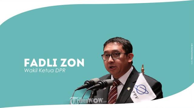 Jokowi Ditantang Fadli Zon Umumkan Cawapresnya Lebih Dulu