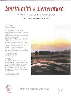 Recuperi/28 - AA.VV., Spiritualità & Letteratura, n. 54