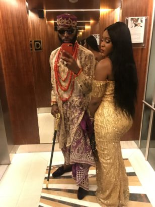 Emma Nyra and Swanky Jerry scream couples goal as they step out for an event