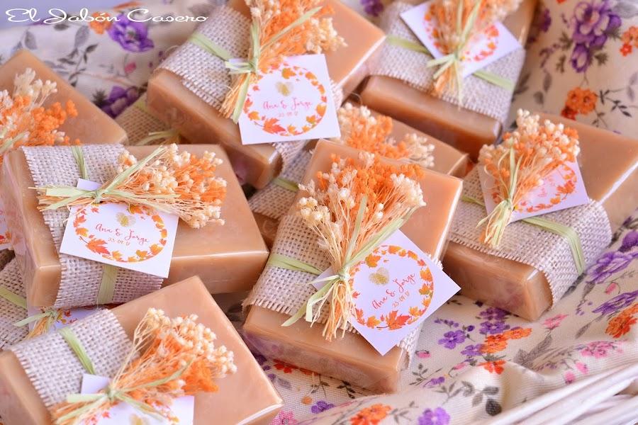 Jabones artesanales para bodas detalles de invitados