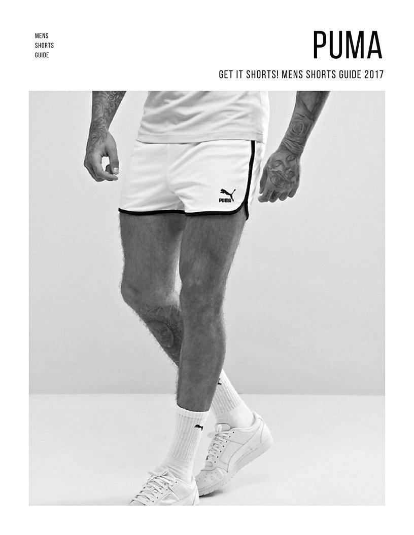 506ab880d4 Retro Mesh Shorts In White by Puma