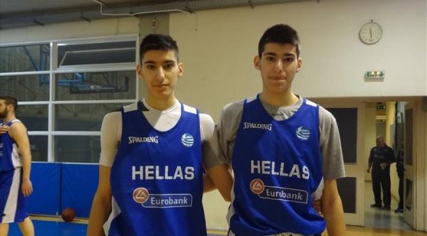 Αφιέρωμα της FIBA στους… δίδυμους μπελάδες της Εθνικής U18