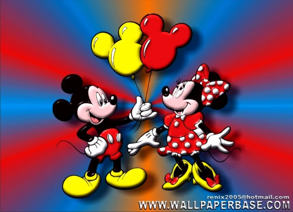 Mitomania dc Mickey Mouse and Minnie Mouse Wallpaper Mickey and