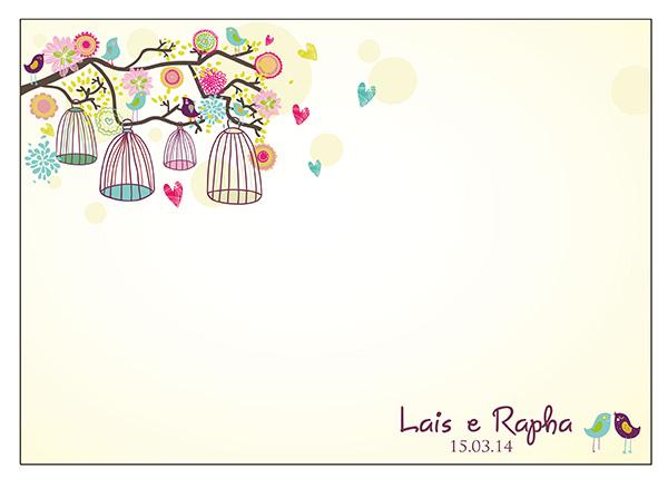 Cartões De Casamento: Muda De Ideias: Lais + Rapha