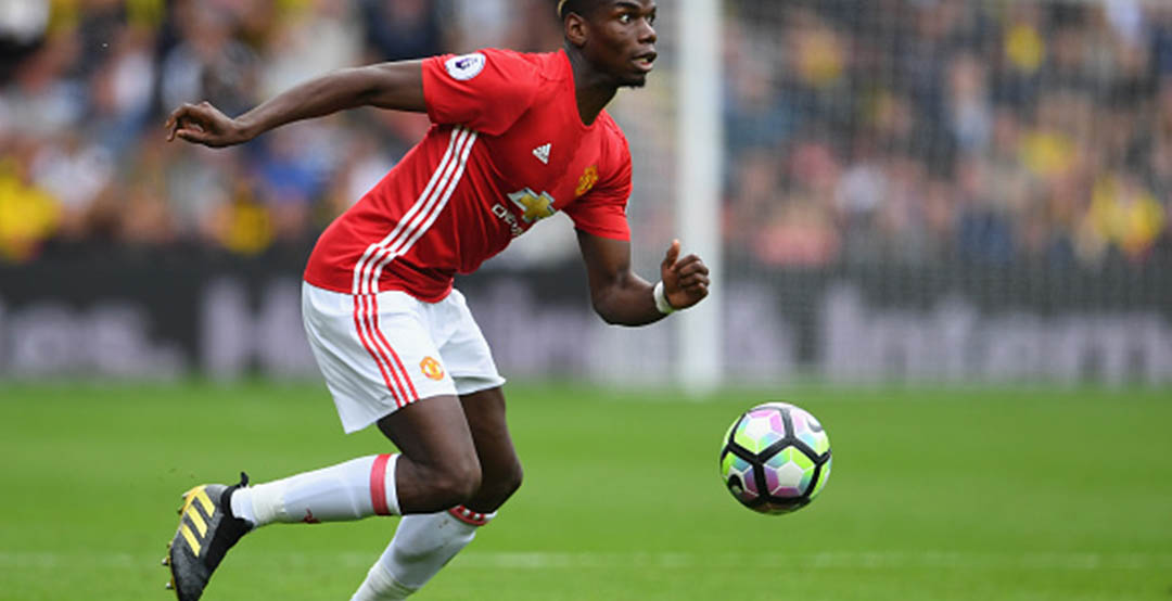 4461adf2c87 Update  Paul Pogba has surprisingly switched back to the black and golden Adidas  Ace Pogbance boots that Adidas released in March 2016 to celebrate that the  ...