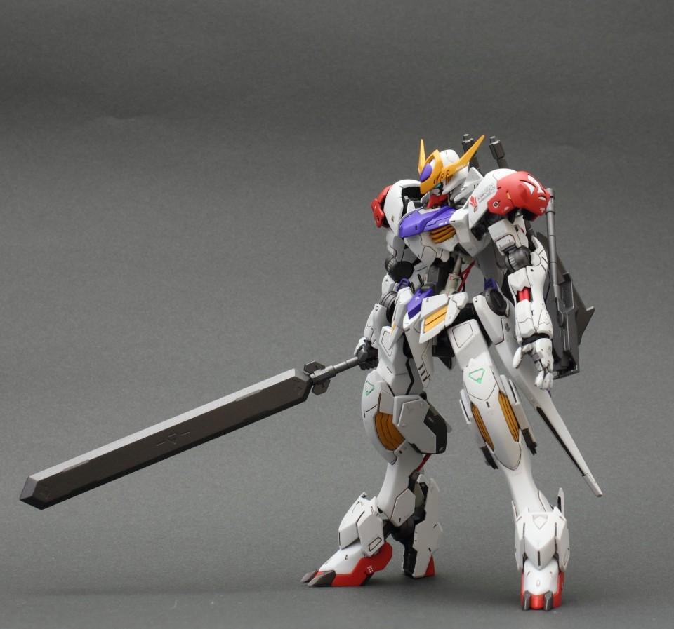 Custom Build: HG 1/144 Gundam Barbatos Lupus [Detailed]