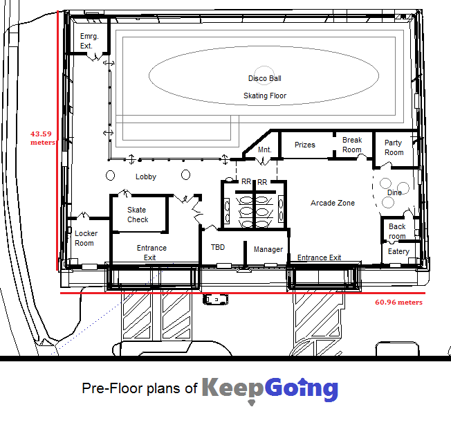 Skating Rink Floor Plans - Fatare Blog