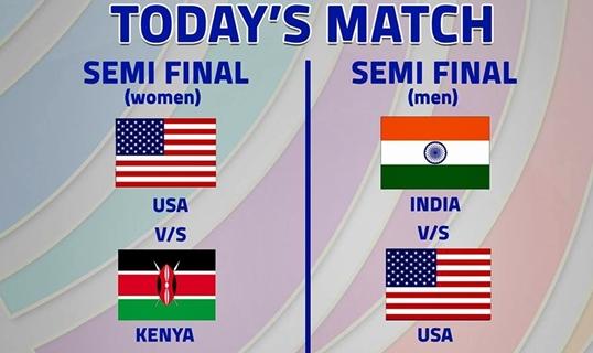 Day 13 - Semi Finals – 6th Kabaddi World Cup 2016 – 16th November – Badal (Bathinda)