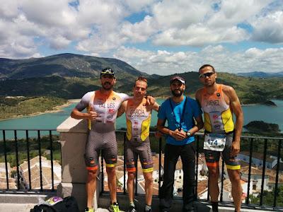 Triatlon Olímpico Zahara de la Sierra 2016
