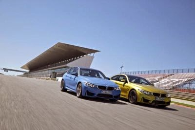 BMW M3 si BMW M4 au fost votate Auto Bild Sports Cars of the Year