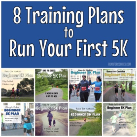 5K training plans for beginners