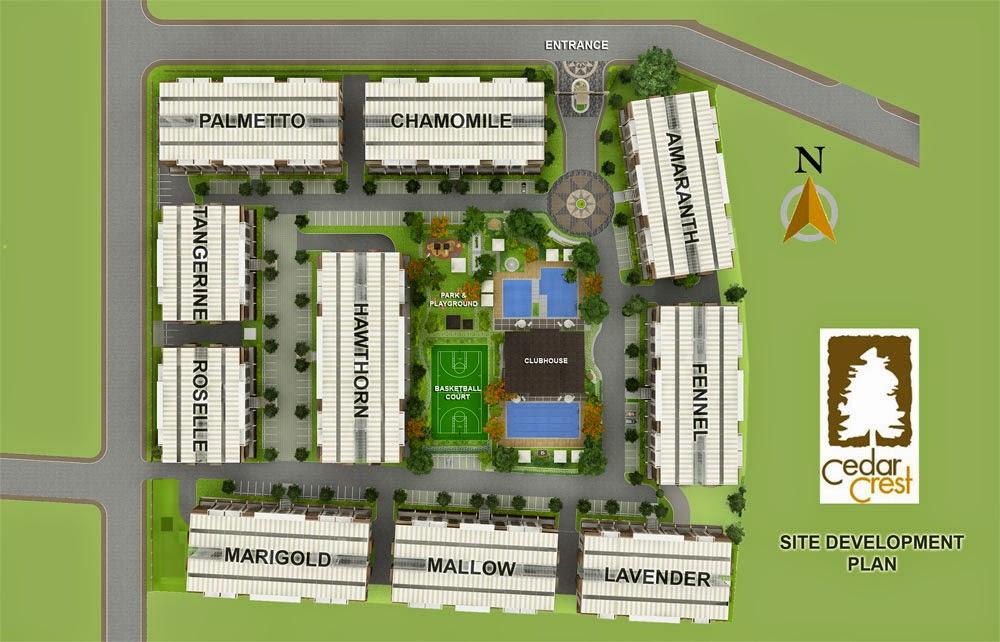 Cedar Crest Site Development Plan