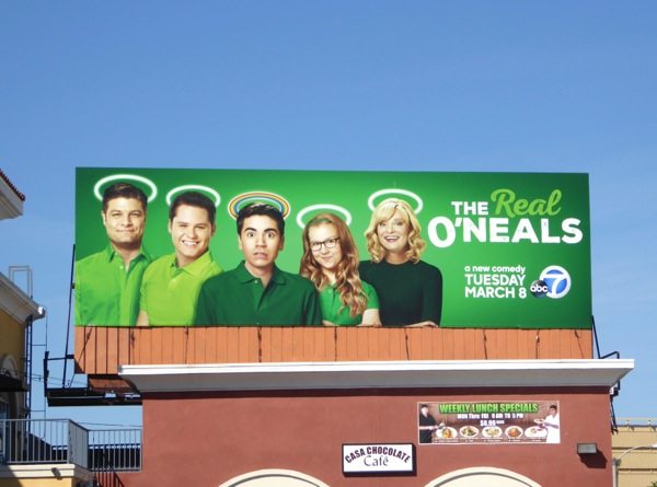 Real O'Neals series premiere billboard