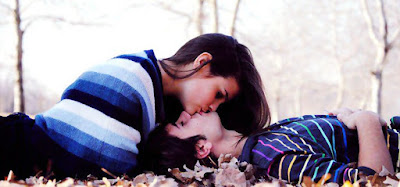 Romantic Happy Kiss Day Facebook Cover Photos