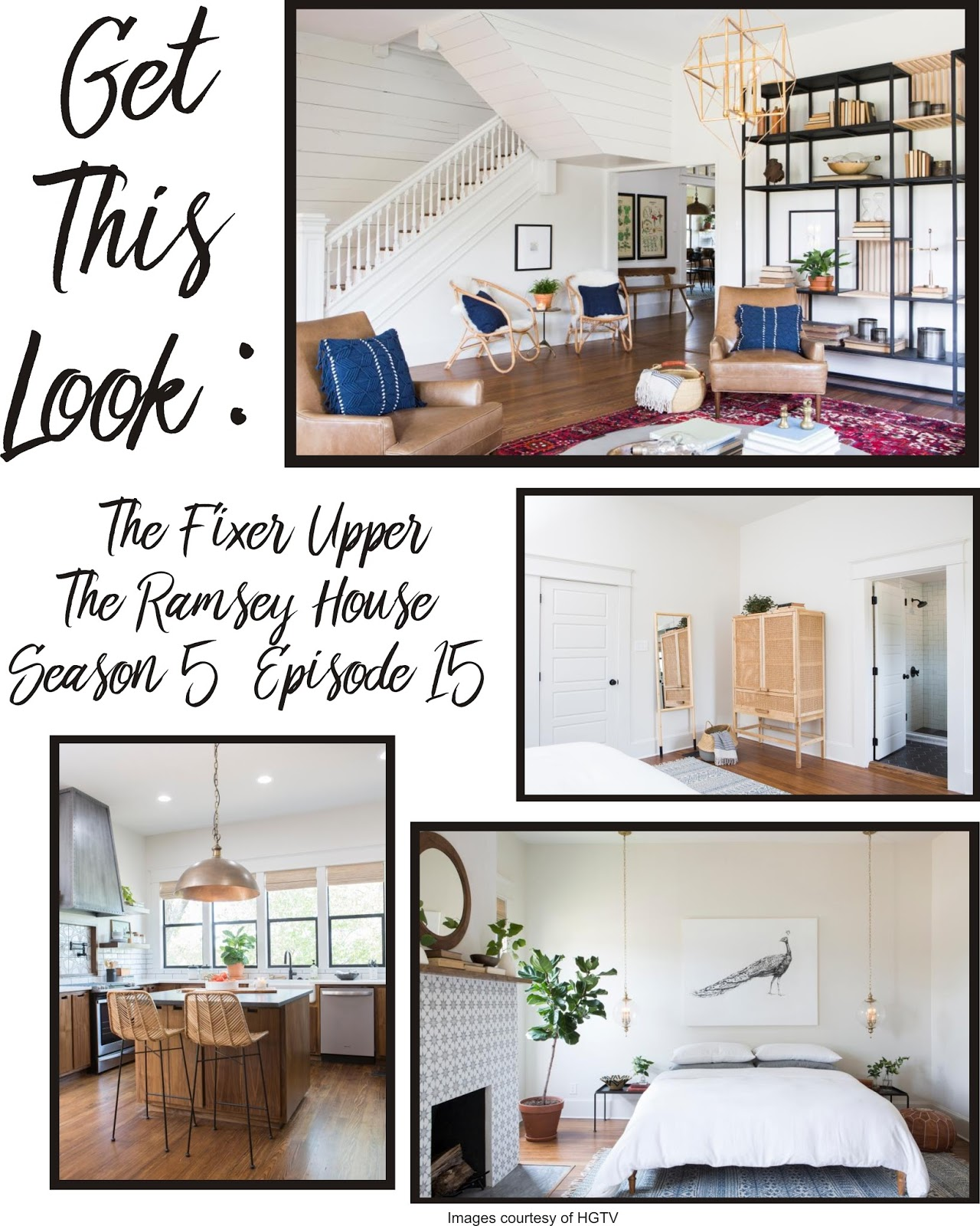 My Magnolia Home Get This Look Fixer Upper The Ramsey House S5 Ep15