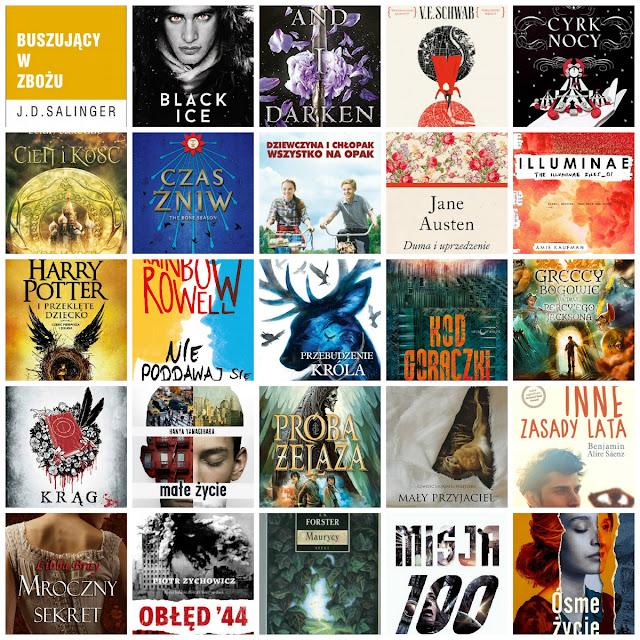 25 książek które chcę przeczytać