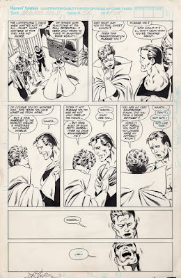 Original art for West Coast Avengers #56, page 6