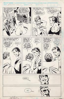 Original art for West Coast Avengers #56, page 6