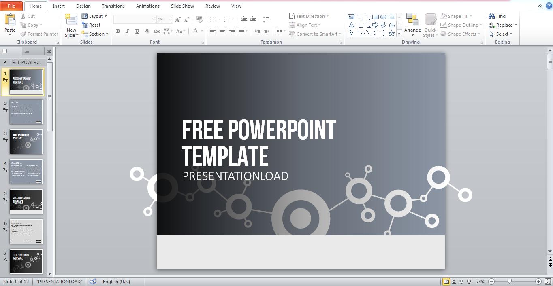 slide powerpoint gratuit iv51