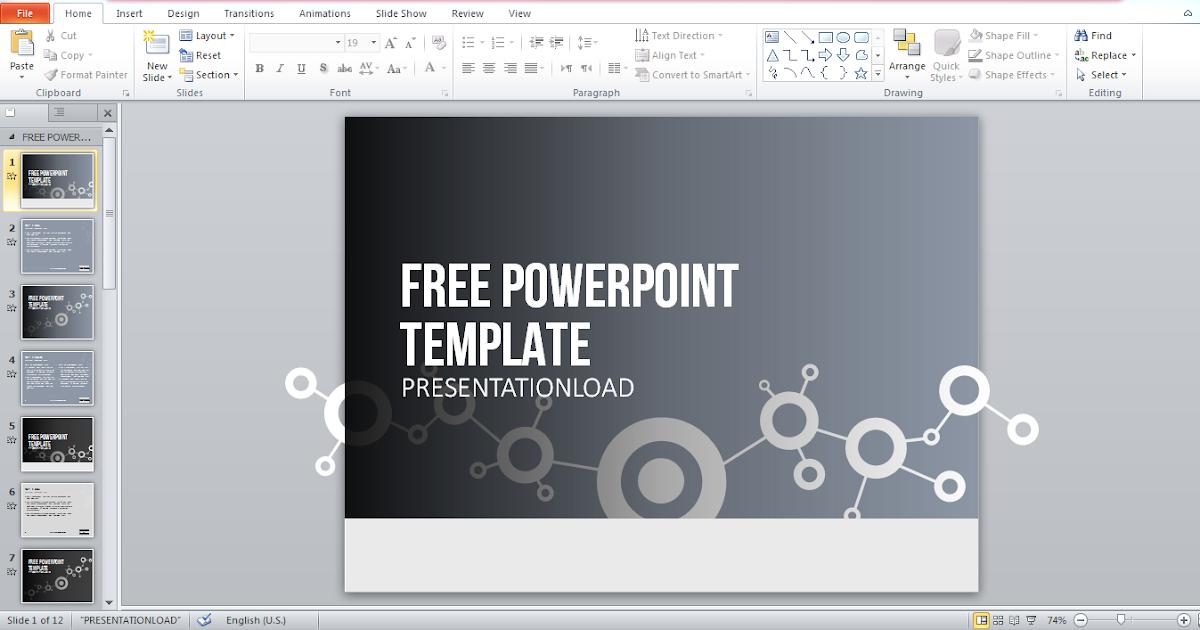 t l charger un template powerpoint 2016 gratuit pour votre. Black Bedroom Furniture Sets. Home Design Ideas