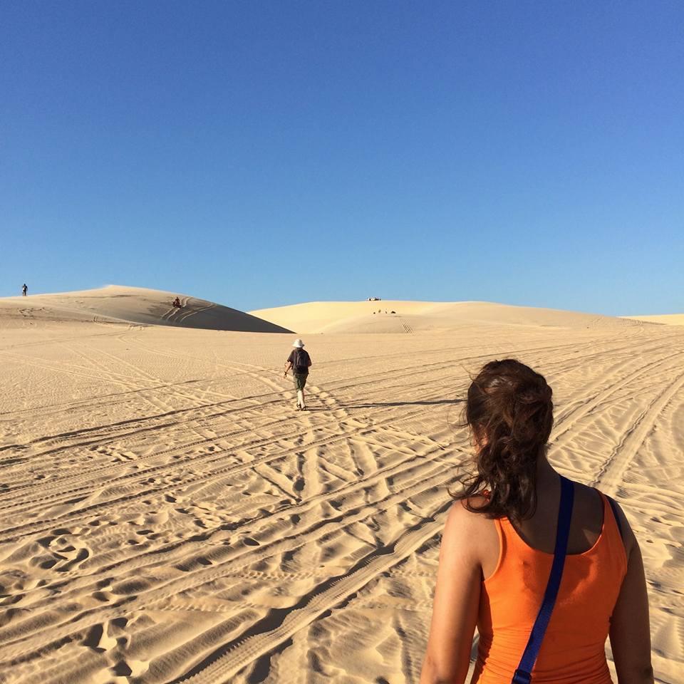 Mui Ne White Sand Dunes | Ummi Goes Where?
