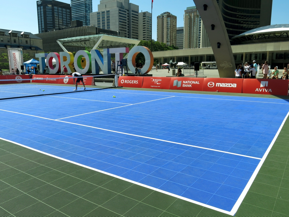 where is the rogers cup played in toronto