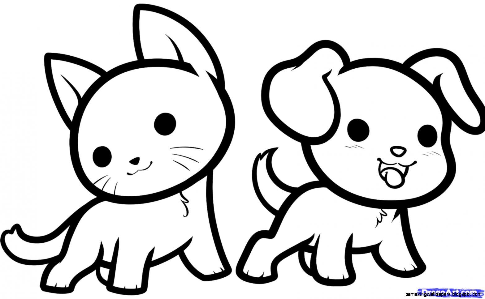 Cute Animal Drawings For Kids