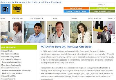 FOTO ICCARRE Cal Cohen vih HIV conference résultats maintenance SIDA page web