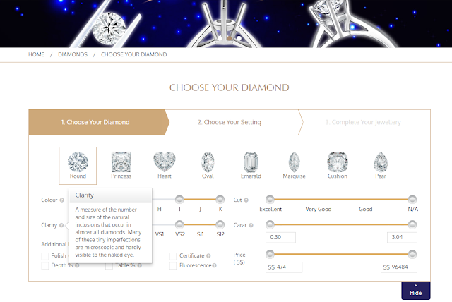 Soo Kee e-store - Customising Diamond