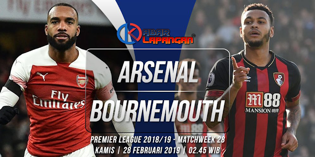 Prediksi Bola Arsenal vs Bournemouth Liga Inggris