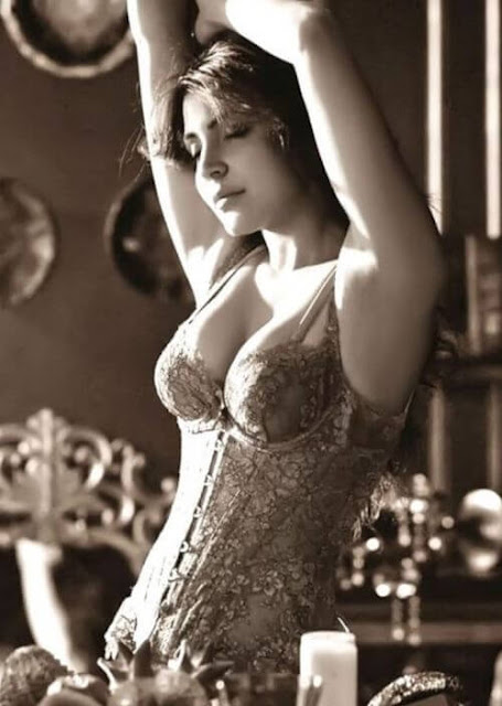 Anushka Sharma looks super hot as she poses during a photo shoot.