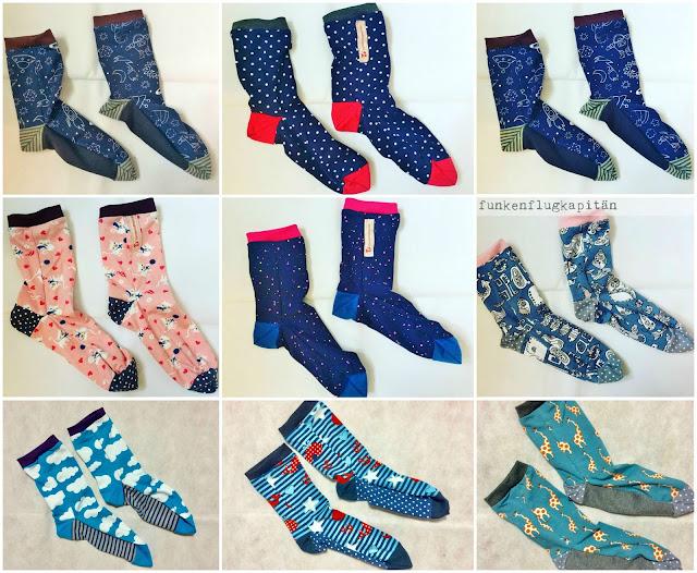 Stoffreste, Socken, Jersey, nähen