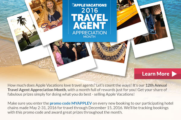 Home Based Travel Agent News: Travel Agent Appreciation Month