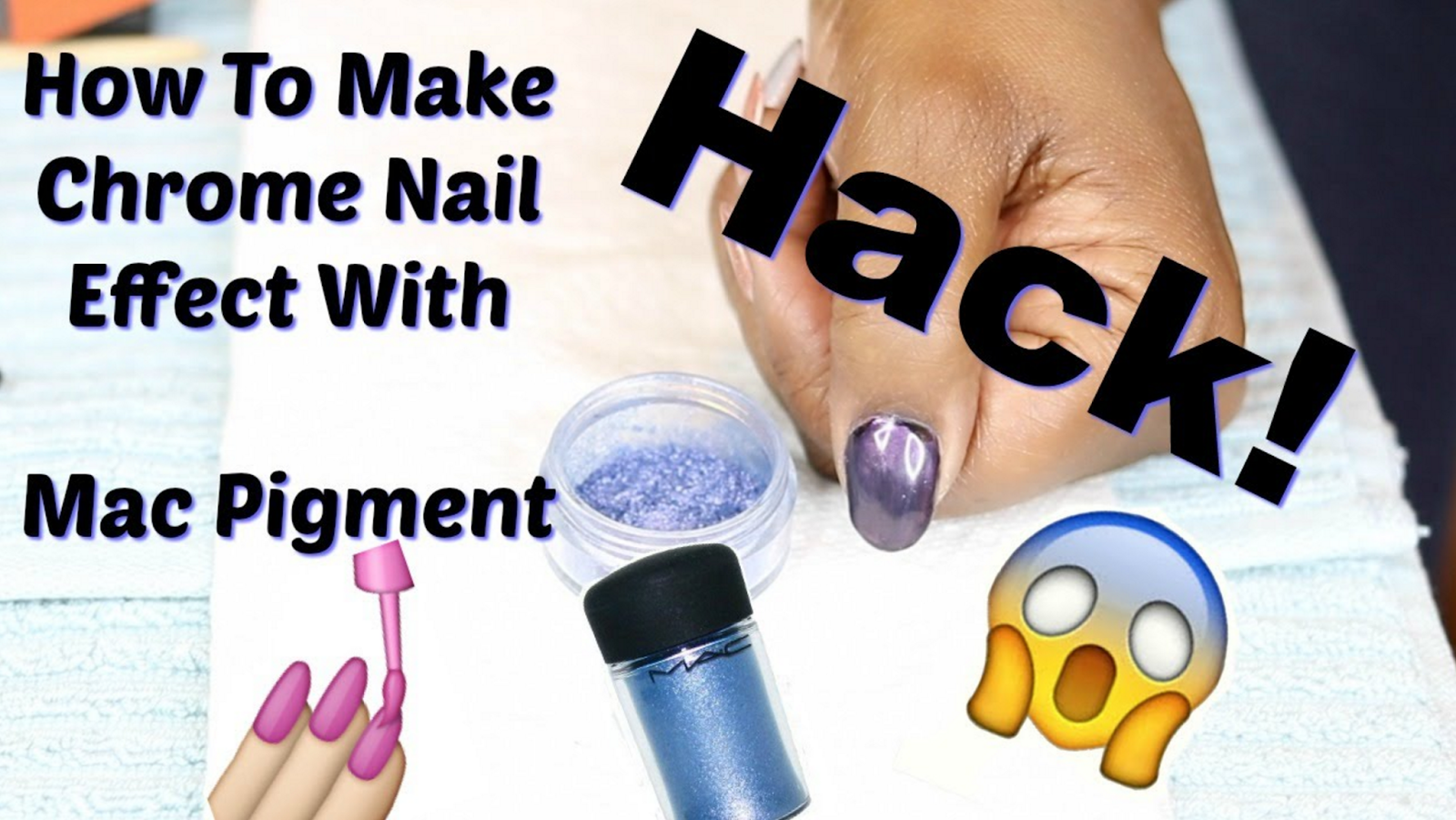 All Things Beauty Diy Hack How To Make Chrome Nail